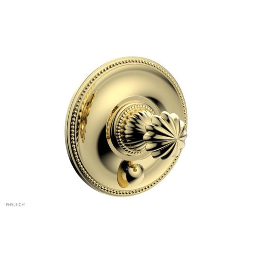 Phylrich - GEORGIAN & BARCELONA Pressure Balance Shower Plate with Diverter and Handle Trim Set PB2361TO - Polished Brass