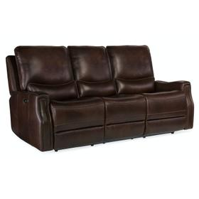 Living Room Gage Power Recline Sofa with Power Headrest
