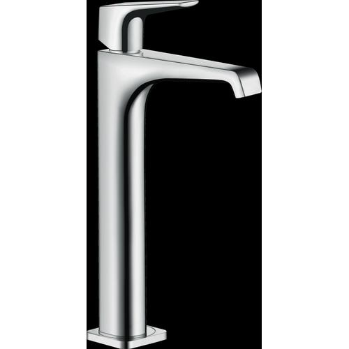 Chrome Single-Hole Faucet 250 with Lever Handle, 1.2 GPM