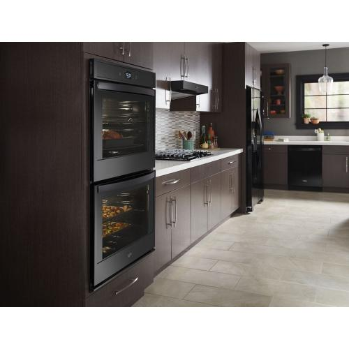 Whirlpool - 8.6 cu. ft. Smart Double Wall Oven with Touchscreen