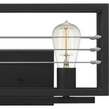 See Details - Awendaw Bath Light in Matte Black