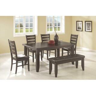 See Details - Dalila Casual Cappuccino Six-piece Dining Set