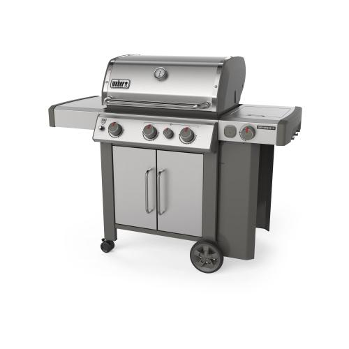 View Product - GENESIS II S-335 Gas Grill Stainless Steel LP