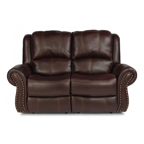 Patton Power Reclining Loveseat with Power Headrests