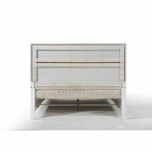 ACME Naima Queen Bed w/Storage - 25770Q - White