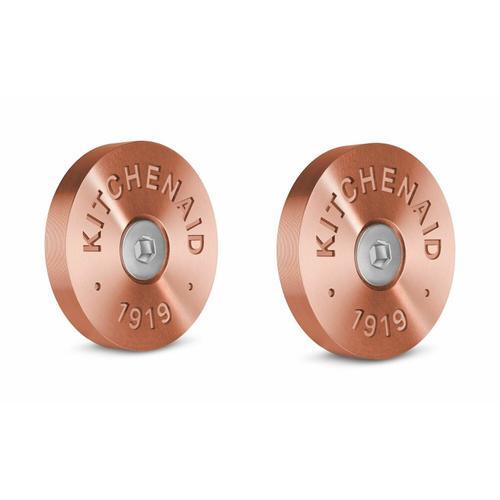 KitchenAid - KitchenAid® Commercial-Style Range Handle Medallion Kit - Copper