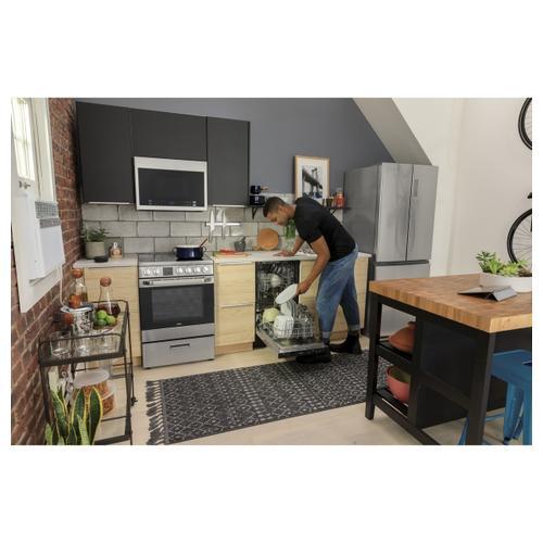 Haier - 15.3 Cu. Ft. French Door Refrigerator