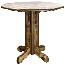 Homestead Collection Pub Table, Stain and Lacquer Finish