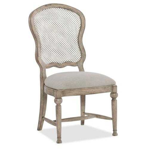 Dining Room Boheme Gaston Metal Back Side Chair - 2 per carton/price ea