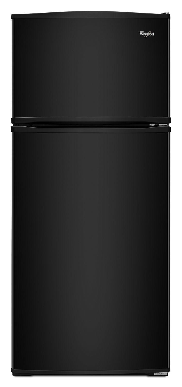 28-inch Wide Top Freezer Refrigerator - 16 cu. ft. Black