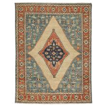Charise-Tabriz Fog Blue - Rectangle - 3' x 5'