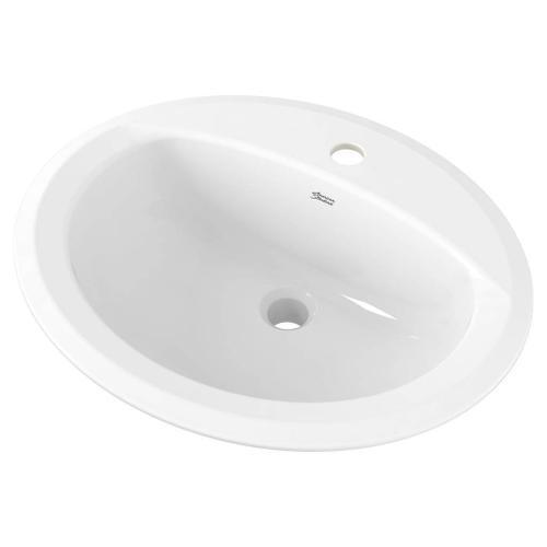 American Standard - Reliant Oval Drop-In Sink, Single Hole  American Standard - White