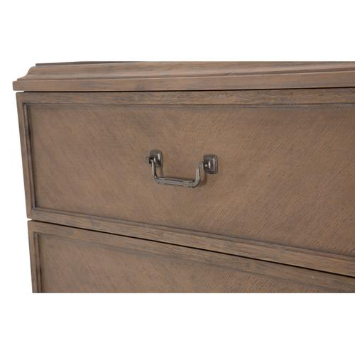 Amini - 2pc Vertical Storage Cabinets-chest of Drawers5drwr