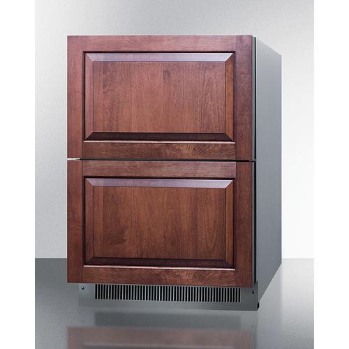 "Summit - 24"" Wide 2-drawer All-refrigerator, ADA Compliant"