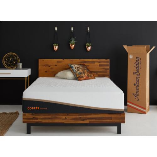 American Bedding - American Bedding - Copper Limited Edition - Performance - Medium Hybrid - Twin