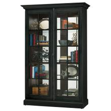 See Details - Howard Miller Clawson IV Curio Cabinet 670023