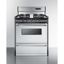 "30"" Wide Gas Range"