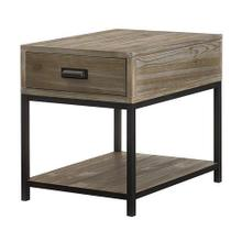 View Product - Parsons Rectangular End Table with Drawer