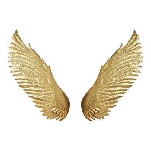 Wings Wall Décor Gold