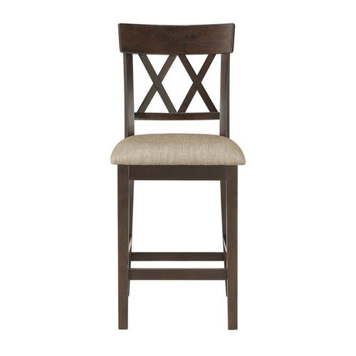 Gallery - Counter Height Chair, Double X Back