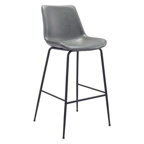 See Details - Byron Bar Chair Gray