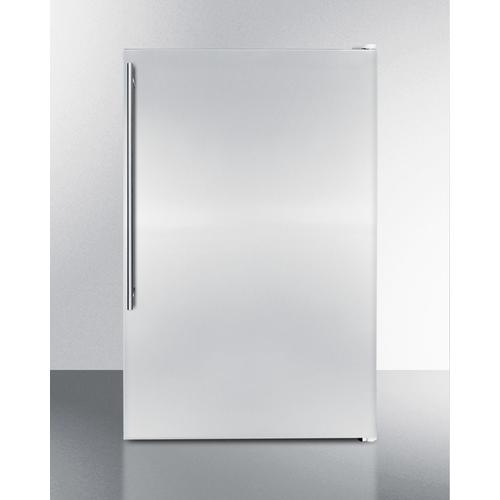 Slim Counter Height Household All-freezer With 5 CU.FT. Capacity and Stainless Steel Door; Replaces Fs60mssvh