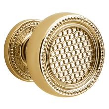 Lifetime Polished Brass K004 Estate Knob