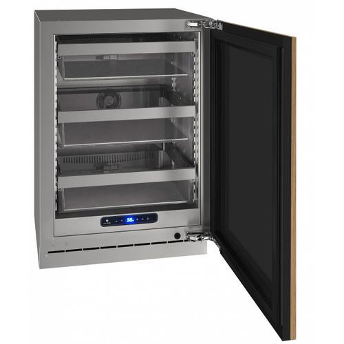"U-Line - Hre524 24"" Refrigerator With Integrated Solid Finish (115 V/60 Hz Volts /60 Hz Hz)"