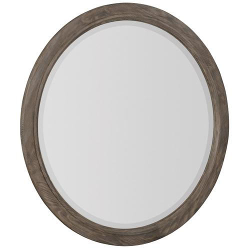 Canyon Ridge Round Mirror in Desert Taupe (397)