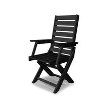Black Captain Dining Chair