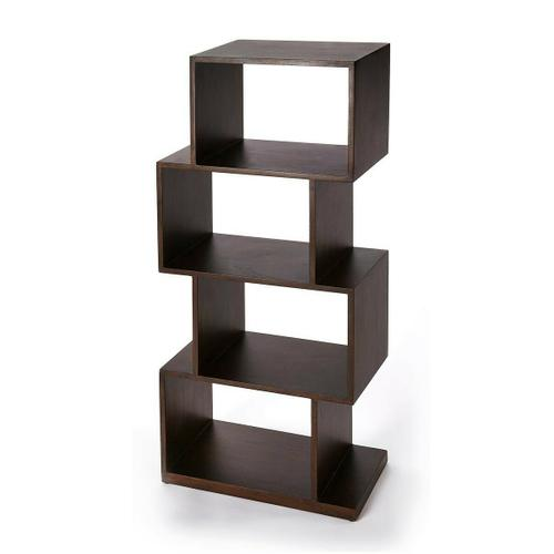 Butler Specialty Company - The ultra-modern cubical etagere will add style and tons of storage to your home. Its four boxes can be used to display family photos, collectables and trinkets on the many shelf spaces offered by this unique bookcase. Crafted in Mango wood and Mango wood solids it will stand the test of time and will be uilized for many years to come.