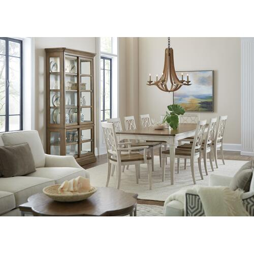 Hooker Furniture - Montebello Wood Seat Arm Chair