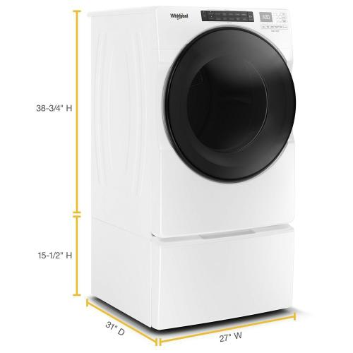 Gallery - 7.4 cu. ft. Front Load Electric Dryer with Steam Cycles
