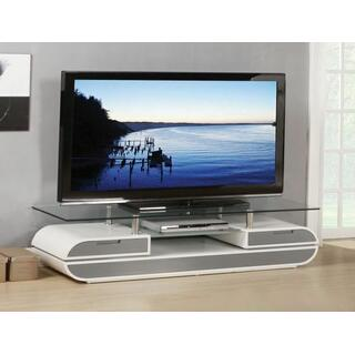 ACME Lainey TV Stand - 91142 - White & Gray