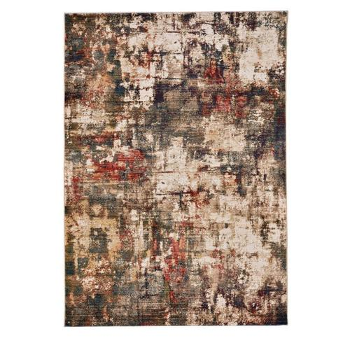 """Alden-Abstract Multi - Rectangle - 3'3"""" x 4'10"""""""
