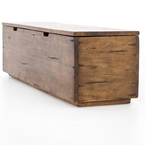 Reclaimed Fruitwood Finish Duncan Trunk