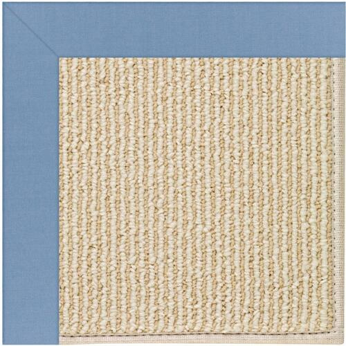 "Creative Concepts-Beach Sisal Canvas Air Blue - Rectangle - 24"" x 36"""