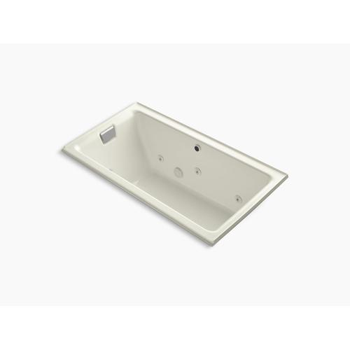 """Biscuit 66"""" X 36"""" Alcove Whirlpool Bath With Left Drain"""