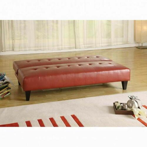 ACME Conrad Adjustable Sofa - 05856 - Red PU