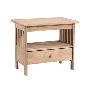 Whitewood Industries - TV-28 Mission TV Stand