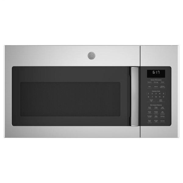 GE® 1.7 Cu. Ft. Over-the-Range Sensor Fingerprint Resistant Microwave Oven