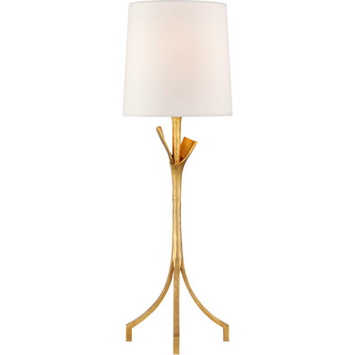 AERIN Fliana 28 inch 100 watt Gild Table Lamp Portable Light