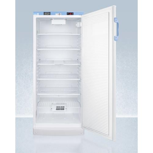 10.1 CU.FT. Upright Auto Defrost Medical/scientific All-refrigerator With Digital Thermostat and Nist Calibrated Thermometer/alarm; Includes Front Lock, Hospital Grade Cord, and Internal Fan