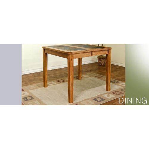Sedona Counter Height Table w/ Slate Top