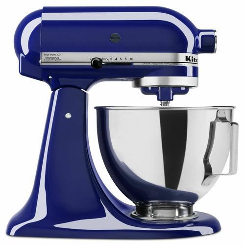 KitchenAid - 4.5-Quart Tilt-Head Stand Mixer - Cobalt Blue