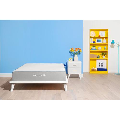 Original Medium Firm Non-Quilted Smooth Top King Memory Foam Mattress