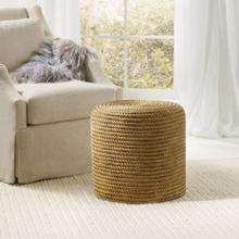 Rope Stool-Gold