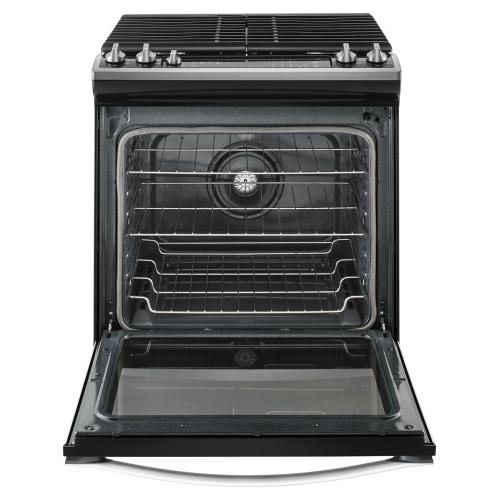 Gallery - 5.8 Cu. Ft. Front Control Gas Range with EZ-2-Lift hinged grates