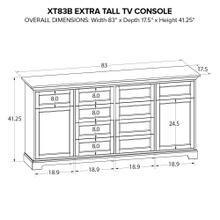 XT83B Extra Tall Custom TV Console