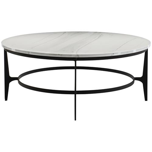Avondale Round Metal Cocktail Table